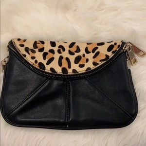 Street Level Clutch Leopard bag